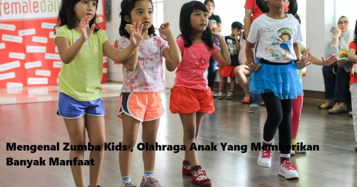 Mengenal Zumba Kids